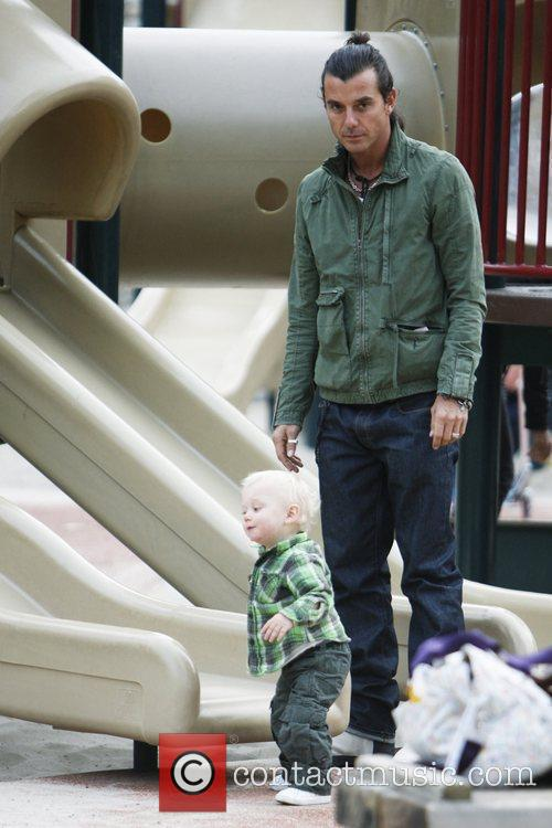 Gavin Rossdale and Son Zuma Rossdale 5