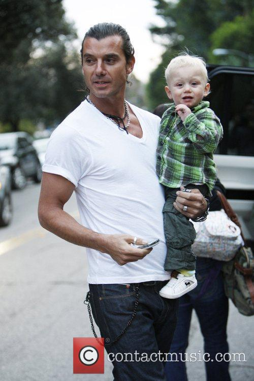 Gavin Rossdale and Son Zuma Rossdale 4