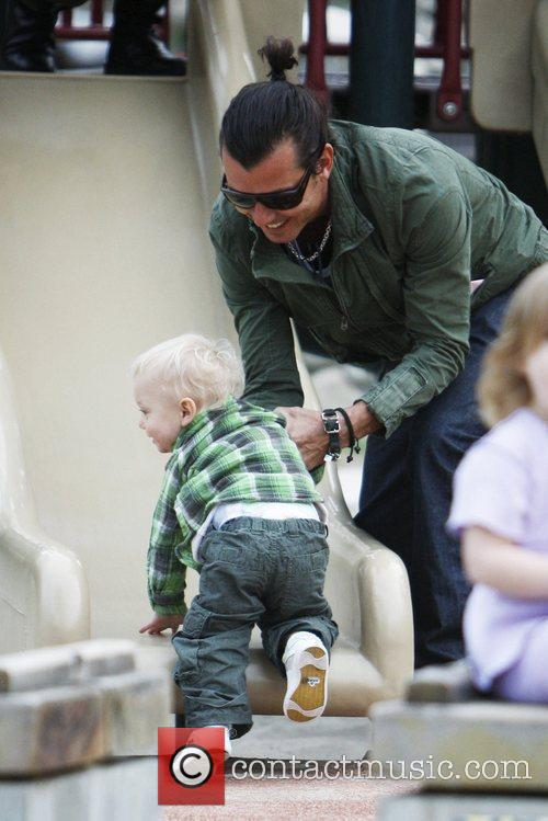 Gavin Rossdale and Son Zuma Rossdale 6