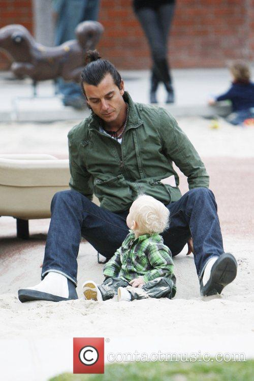 Gavin Rossdale and Son Zuma Rossdale 2