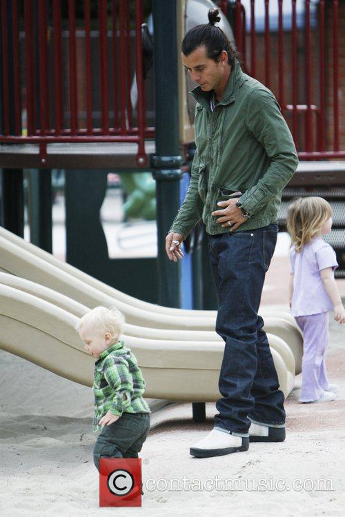 Gavin Rossdale and Son Zuma Rossdale 3