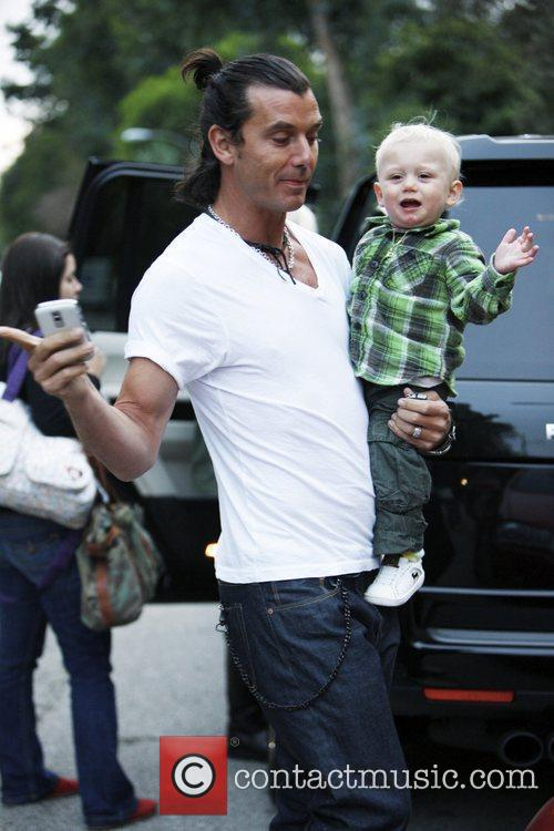 Gavin Rossdale and Son Zuma Rossdale 1