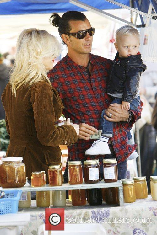 Gavin Rossdale and Gwen Stefani 5