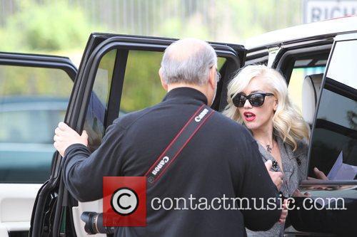 Dennis Stefani and Gwen Stefani Gwen Stefani shopping...