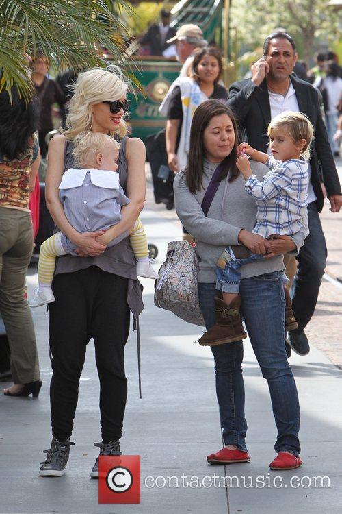 Zuma Rossdale, Gwen Stefani and Kingston Rossdale Gwen...