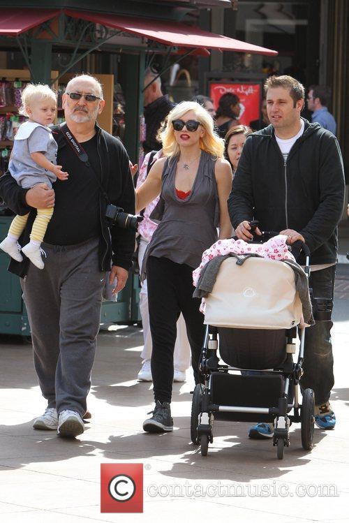 Zuma Rossdale, Dennis Stefani and Gwen Stefani Gwen...