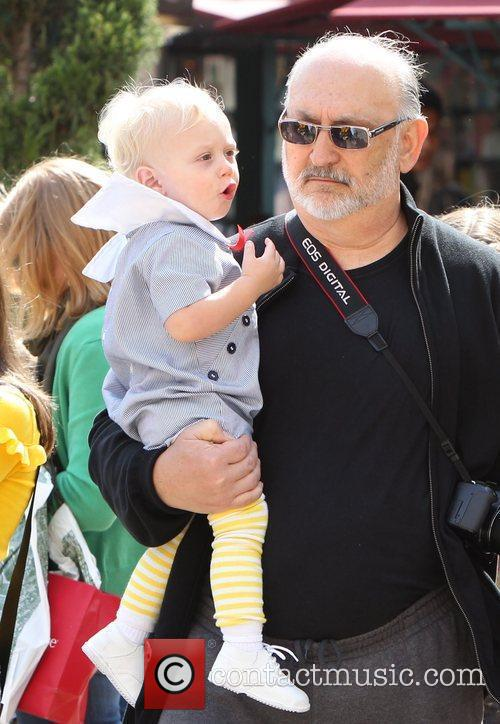 Zuma Rossdale and Dennis Stefani Gwen Stefani shopping...
