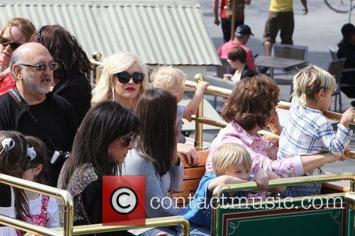 Dennis Stefani, Gwen Stefani and Zuma Rossdale Gwen...