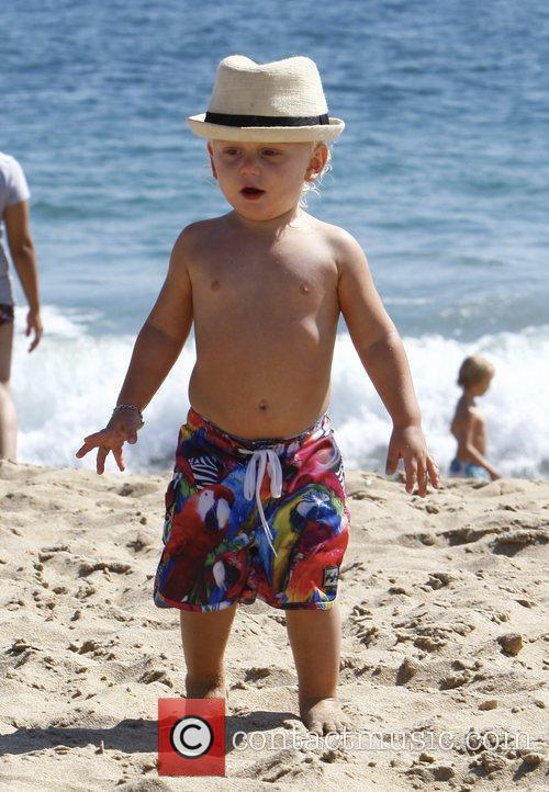 Gwen Stefani's son, Zuma Rossdale, enjoys a family...