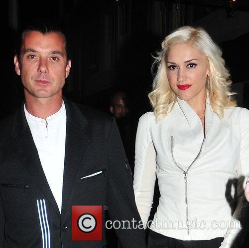 Gwen Stefani, Gavin Rossdale and Midtown 6