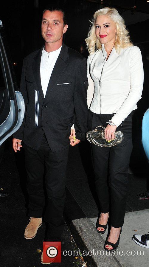 Gwen Stefani, Gavin Rossdale and Midtown 8
