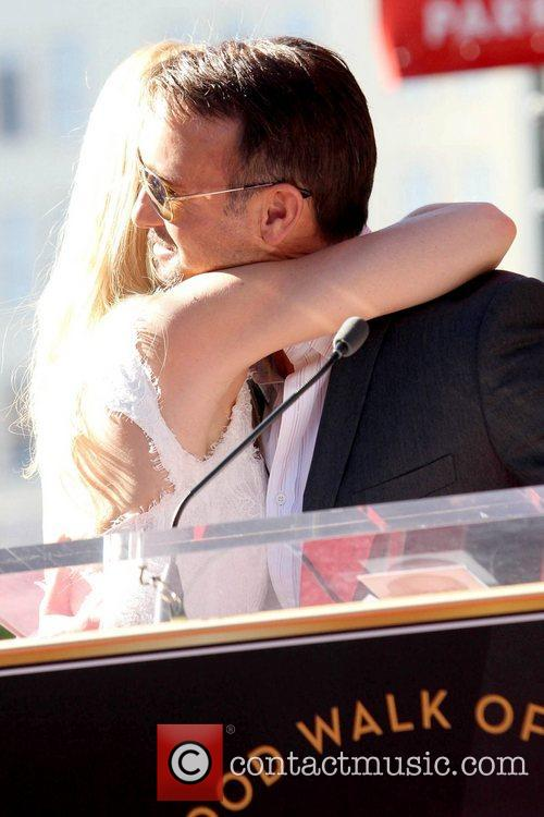 Gwyneth Paltrow, Tim Mcgraw, Star On The Hollywood Walk Of Fame, Walk Of Fame