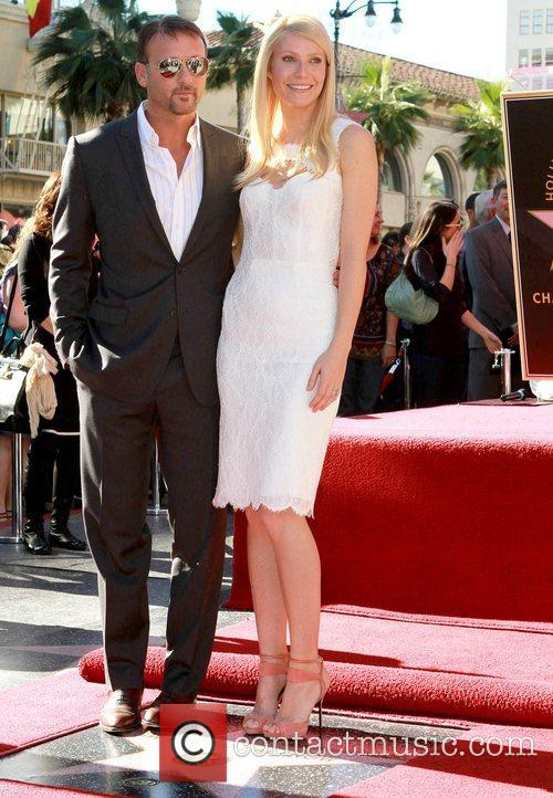 Tim Mcgraw, Gwyneth Paltrow, Star On The Hollywood Walk Of Fame, Walk Of Fame