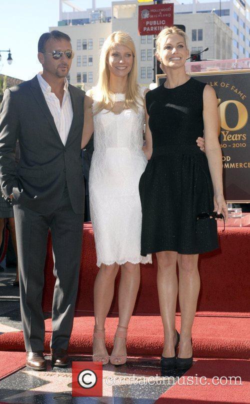 Tim Mcgraw, Faith Hill, Gwyneth Paltrow, Star On The Hollywood Walk Of Fame, Walk Of Fame