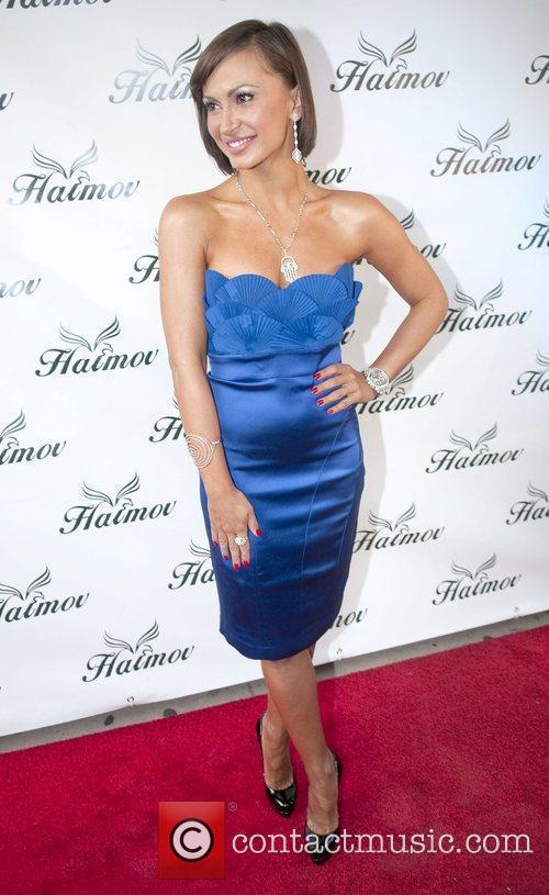 Attends the grand re-opening of the Haimov Jewelers...