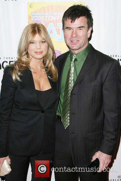 Donna D'Errico and James Pitt Los Angeles Premiere...