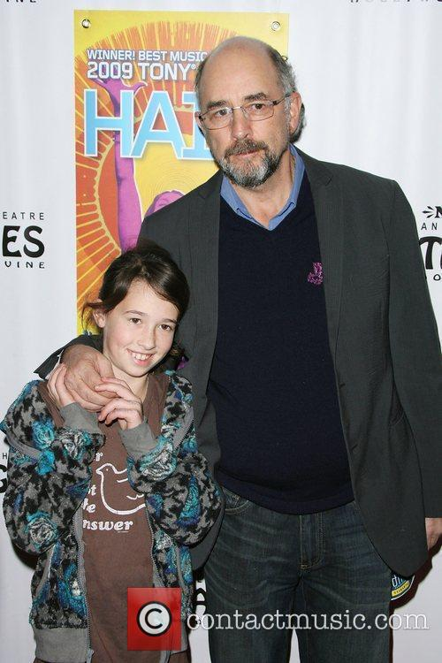 Richard Schiff and daughter Los Angeles Premiere of...
