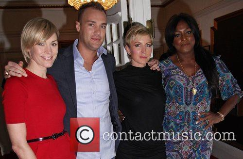 Jenni Falconer, Heather Mills and Mica Paris 2