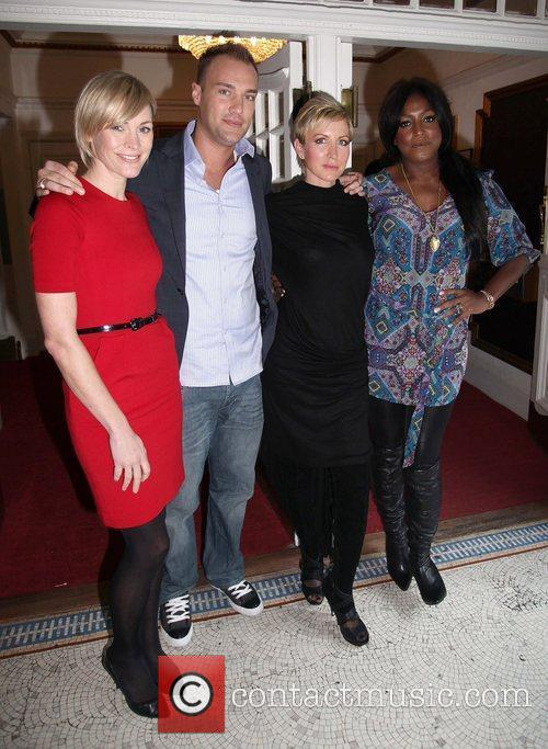 Jenni Falconer, Heather Mills and Mica Paris 1