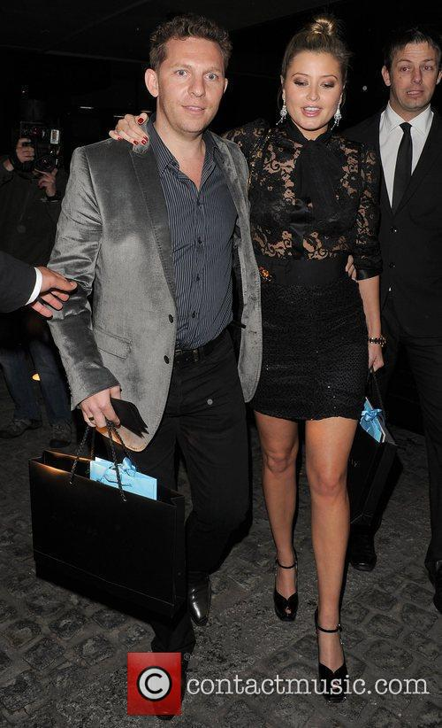 Holly Valance and her boyfriend Nick Candy The...