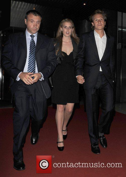 Princess Beatrice and her boyfriend Dave Clark The...