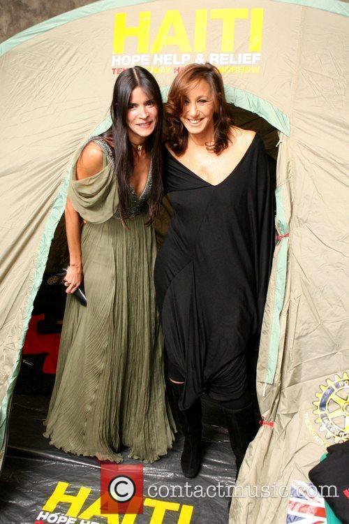 Patricia Velasquez and Donna Karan 7