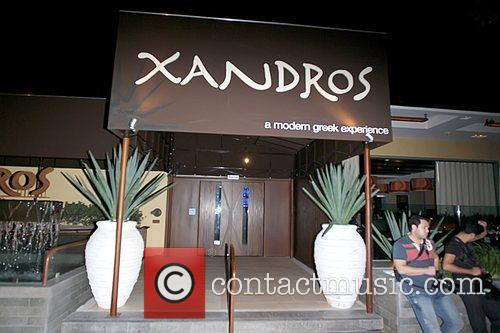 Xandros restaurant in West Hollywood