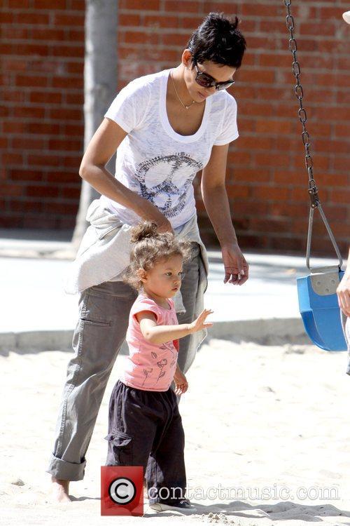Halle Berry and Nahla Ariela Aubry 18