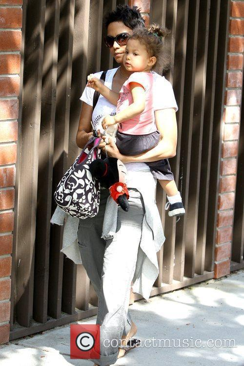 Halle Berry and Nahla Ariela Aubry 26