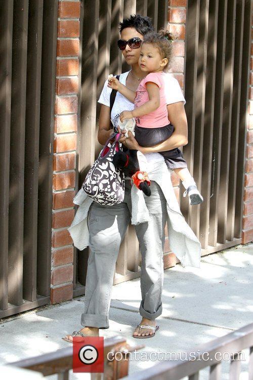 Halle Berry and Nahla Ariela Aubry 24