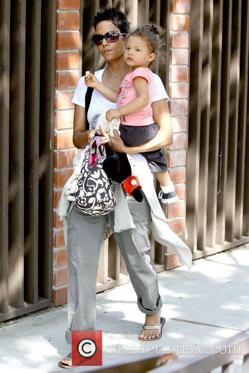 Halle Berry and Nahla Ariela Aubry 22