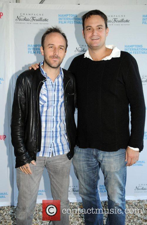 David Ciantrance and Jamie Patricof  attend a...