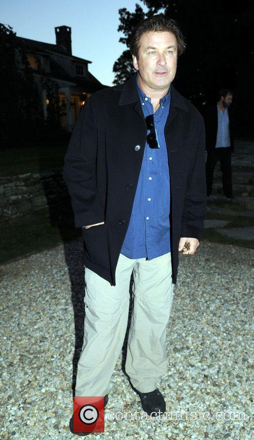 Alec Baldwin  attend a dinner to celebrate...