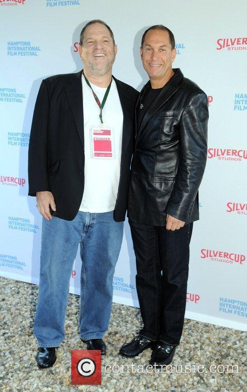 Harvey Weinstein; Stuart Suna attend the Chairmen's Reception...