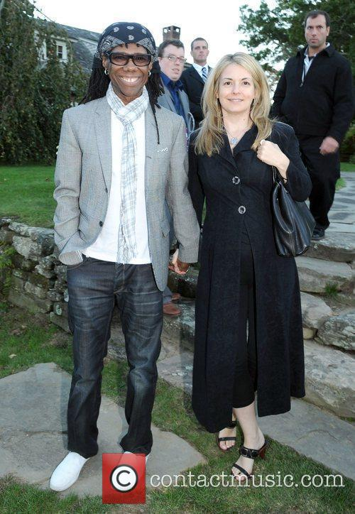 Nile Rogers attends the Chairmen's Reception during the...