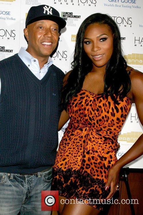 Russell Simmons and Serena Williams 3