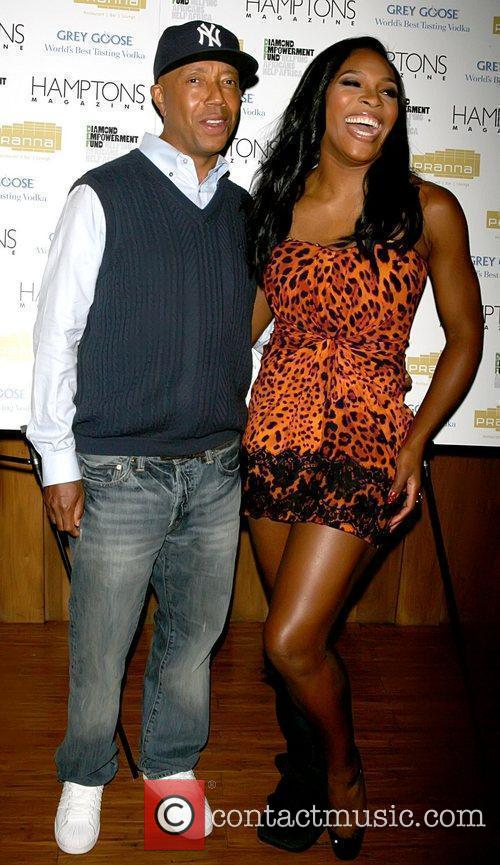Russell Simmons and Serena Williams 5