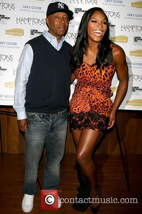 Russell Simmons and Serena Williams 4
