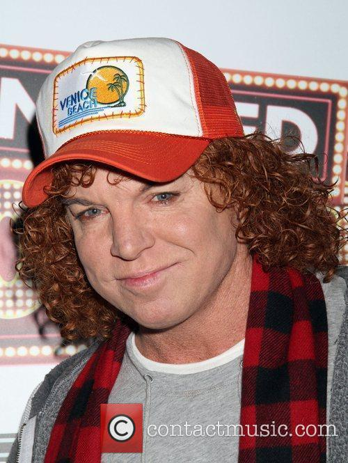 Carrot Top arrive to the The Hangover DVD...