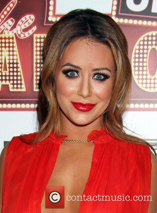 Singer Aubrey O'Day arrives to the The Hangover...