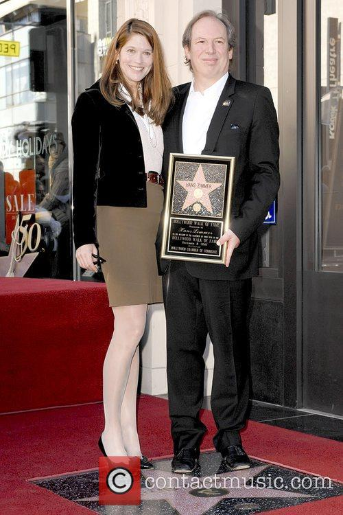Suzanne Zimmer, Hans Zimmer, Star On The Hollywood Walk Of Fame, Walk Of Fame