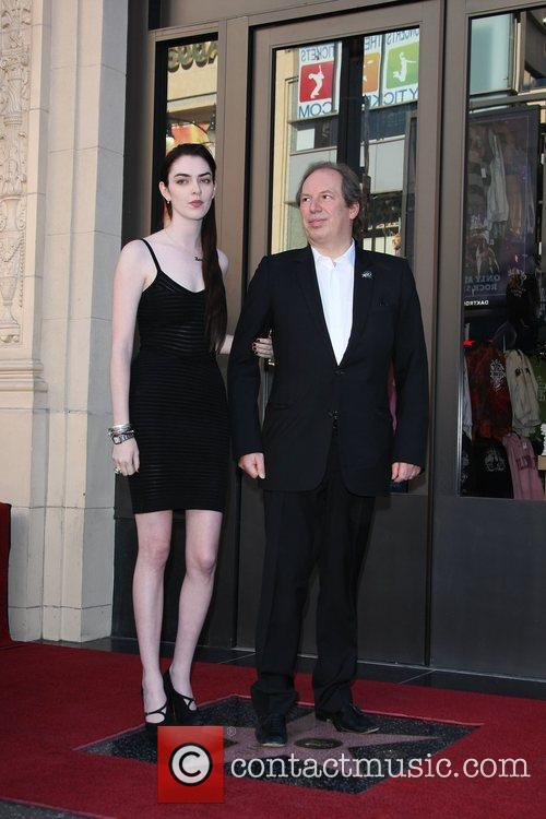 Composer Hans Zimmer and his daughter Zoe Zimmer...