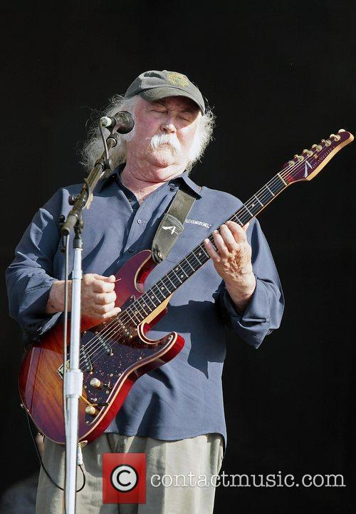 David Crosby of CSN performs on day 3...