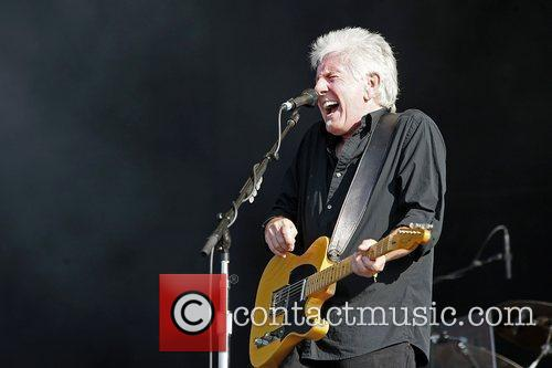 Graham Nash of CSN performs on day 3...