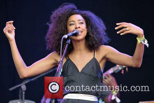 Corinne Bailey Rae performs at day 2 of...