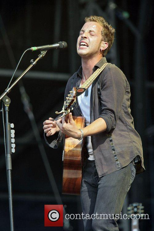 James Morrison performs at day 2 of Hard...
