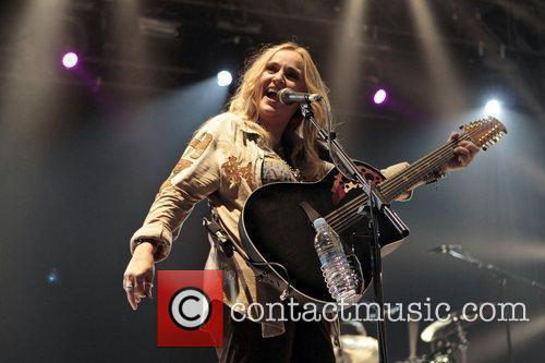 Melissa Etheridge performs at day 2 of Hard...