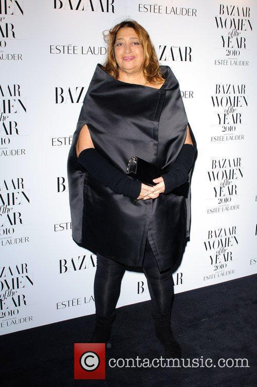 Zaha Hadid Harper's Bazaar Women Of The Year...