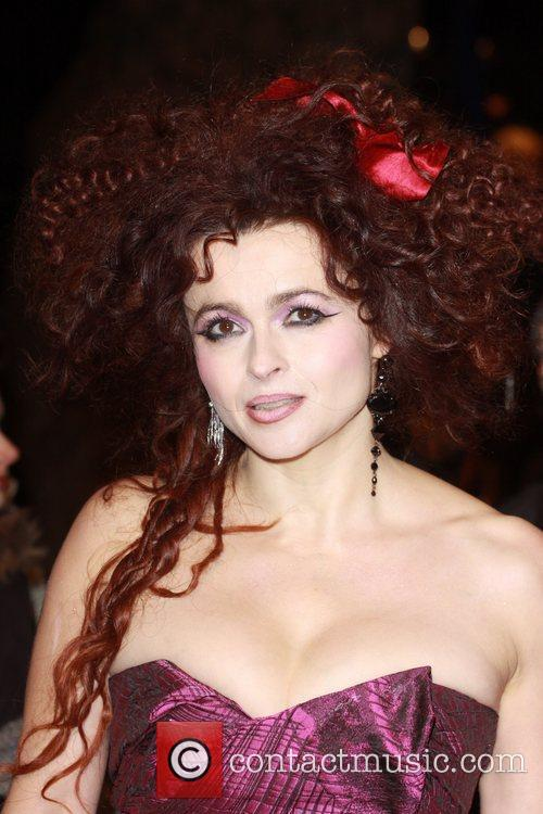 Helena Bonham Carter and Harry Potter Odeon Leicester Square