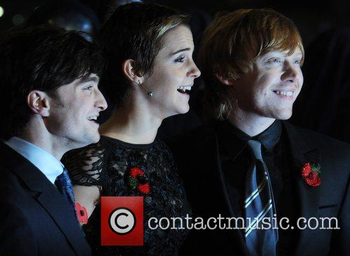 Daniel Radcliffe, Emma Watson, Harry Potter and Rupert Grint 15